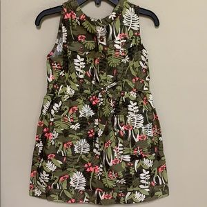 Adorable Old Navy jungle print dress. 3T